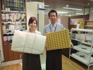 愛知県三河のオーダー枕と、敷布団。 2014.01.23