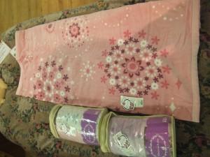 まだまだ、毛布が必要ですね! 2014.1.28愛知県のオーダー枕(快眠ひろば)プロショップぐっすり屋。