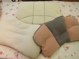 春の始まりはオーダーメイド枕で 2014.04.10
