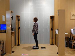 全国2台目の導入!西川最新の非接触型測定器 N-3D BODYが名西店に登場!